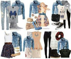 What's your favorite outfit .. blue Jean jacket
