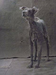 Expressive Canine Sculptures by Helen Thompson