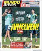 Mundo Deportivo  - 19 Octubre 2013 - [PDF] [IPAD] [ESPAÑOL] [HQ]