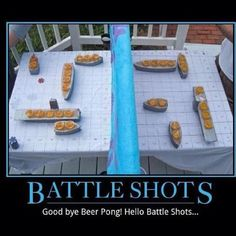 Battle Shots. Now this looks like a challenge.