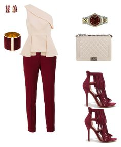 """""""Ready for the weekend"""" by nkecheeyem on Polyvore featuring Wild Diva, Etro, C/MEO COLLECTIVE, Dsquared2, Chanel, Effy Jewelry and Rolex"""