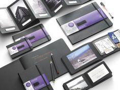 Moleskine Black Page Album :: cuaderno negro para escribir con tinta fluorescente