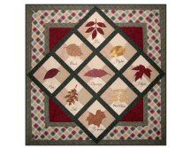 Autumn Jewels Printable Quilt Note Card