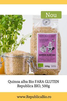 Quinoa este, de fapt, o sămânță, astfel că nu conține deloc gluten. Specialiștii în nutriție consideră quinoa un superaliment care ar putea eradica foametea și malnutriția datorită calităților sale nutritive. Conține grăsimi bune, cu un raport optim de Omega-6 și Omega-3, vitaminele A, B, C și E, importante în funcționarea metabolismului și menținerea imunității. Photo credit: Zafiu Andrei Metabolism, Vegan Vegetarian, Quinoa, Gluten, Organic, How To Make
