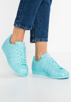 cheap for discount 055f4 075fa adidas Originals. SUPERSTAR GLOSSY TOE - Baskets basses - easy mint core  black.