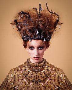 Organic - photo: Attila Udvardi /  styling: Annamária Madar / makeup: Ágnes Bukor / hair: Atee Miller @ Marosfalvi hair /  model: Bogi