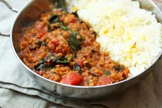 https://paleo-diet-menu.blogspot.com/ #PaleoDiet Masala red lentils with chard | Kates World Kitchen