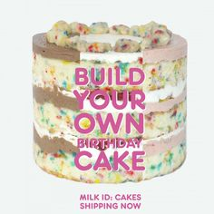 Milk ID Build Your Own Birthday Cake Bar Gluten Free