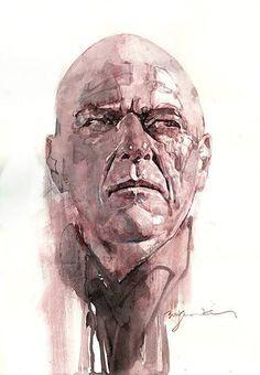 Breaking Bad by Bill Sienkiewicz *--extraordinary artwork !