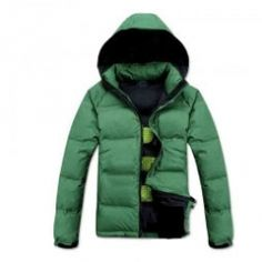 Amazing Green Down Jacket