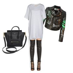 """""""Court side"""" by kaibari on Polyvore featuring Givenchy, Faith Connexion, Off-White and CÉLINE"""