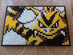 Electabuzz Perler by QueenChalo.deviantart.com on @DeviantArt