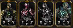 Triborg cards