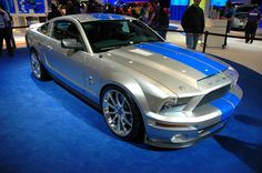 ..O--O.. Ford Shelby Cobra Mustang GT500KR 40th Anniversary
