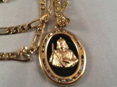 San Judas Cadena Oro Negro Rosario Sinaloense by RosariesAndAcc, $79.99