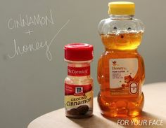 Cinnamon & Honey for Natural Skincare! ▲ face cleanser and mask diy | souvenirs + resonance