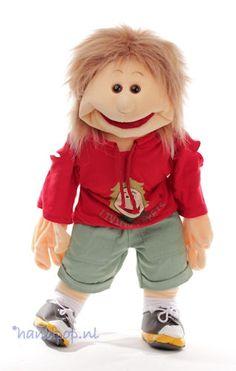 Florian. 65 cm grote Living Puppets menspop bij Handpop.nl
