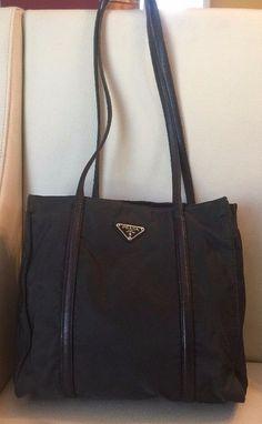 NEW!!! $3450 Prada City Calf Double Zip Tote, Shoulder Bag, Black ...