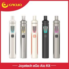 Original Joyetech Ego AIO kit All-in-one battery Capacity Anti-leaking Structure Starter kit electronic cigarette Vaporizer Pen, Vape Shop, Easy To Use, Starter Kit, Starters, Coding, This Or That Questions, Electronic Cigarettes, Things To Sell