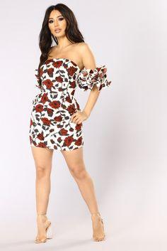 Marietta Mini Dress - Ivory