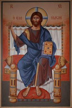 Jesus Christ the Merciful Images Of Christ, Religious Images, Religious Icons, Religious Art, Byzantine Icons, Byzantine Art, Greek Icons, Religion, Russian Icons