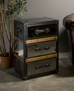 Tilman 3-Drawer Trunk -  imax