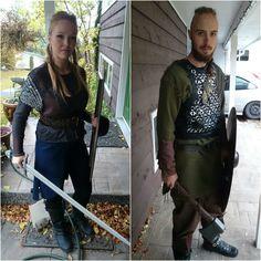 First cosplays - Lagertha and Ragnar Lothbrok! - Imgur