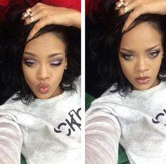 Rihanna's so cute .......
