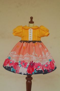 Hey, I found this really awesome Etsy listing at https://www.etsy.com/listing/171105223/blythe-dress-garden-skyline