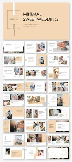 DIY Wedding Animation Template – Original and high quality PowerPoint Template… - Design Web Design, Slide Design, Layout Design, Design Ideas, Slide Presentation, Presentation Design, Power Point Presentation, Template Web, Powerpoint Design Templates