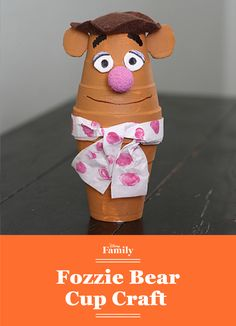 With just a few craft supplies and an afternoon of creativity, you can have a Fozzie Bear of your very own! It's a cute and easy Muppets DIY to welcome them back to TV!