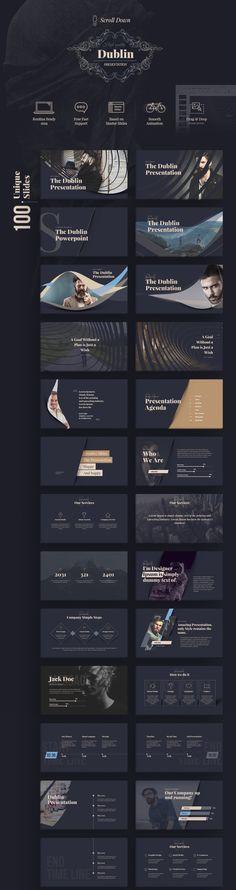 100 Unique & specially designed slides