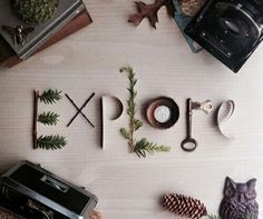 Explore photo print mixed media lettering by erinleightdesigns beautiful All The Bright Places, Oh The Places You'll Go, Adventure Awaits, Adventure Travel, Life Adventure, Nature Adventure, Adventure Quotes, Schrift Design, Photo Print