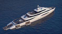 Fincantieri and Pininfarina unveil Ottantacinque concept | Boat International