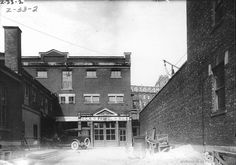 1933 Poste de police no 4, au 105, rue Ontario Est, Archives de la Ville de Montréal,VM094-Y-1-17-D0032-P02