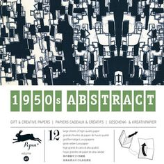 1950s Abstract Wrapping Paper, $14, now featured on Fab. [The Pepin Press]