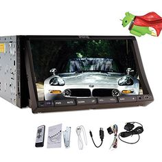 Special Offers - 7Inch Sliding Capacitive Android 4.2 Universal In Dash HD Touch Screen Car DVD Player Double Din GPS Navigation Stereo AM/FM Radio Support Video/Audio/SD/USB/Bluetooth/3G/Wifi/1080P/DVR - In stock & Free Shipping. You can save more money! Check It (July 20 2016 at 06:29PM)…