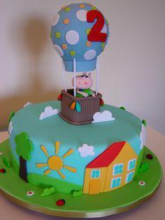 Peppa Cake ( George)