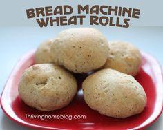 Wheat Roll Recipe for Bread Machine