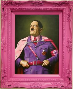 """Portraits : a series of ""fabulous"" depictions of tyrants, dictators and popes"" dell'artista Scott Scheidly"