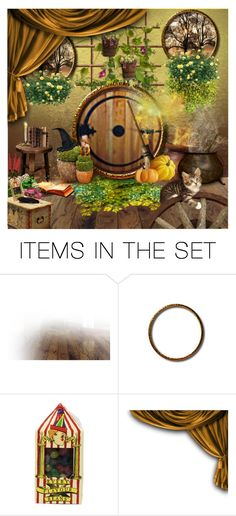 """Hufflepuff Common Room ~3"" by harrypottersets ❤ liked on Polyvore featuring art"