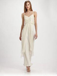 Saks:  ABS  Silk Gown  $225.74