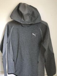 ff3a47b72a63 Boys X-Large Puma Hooded Sweatshirt  fashion  clothing  shoes  accessories