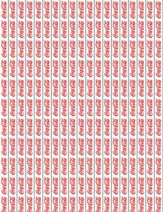 Star Paper- Coca-Cola by on DeviantArt Barbie Food, Doll Food, Cardboard Dollhouse, Dollhouse Miniatures, Miniature Crafts, Miniature Food, Coca Cola, Drink Labels, 3d Modelle