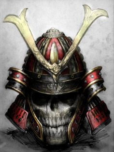 A Skeletal Samurai by HostileSynth.deviantart.com on @DeviantArt