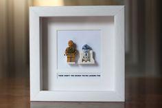 Star Wars Lego Mini Figures R2 D2 & C3PO by PrettyPeculiarUK, £35.00