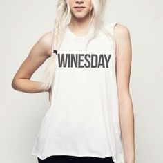 Jesus would want you to. We love ourselves a good Pinot, who care's if it's on a Wednesday?! 50/50 Cotton Poly.Super Soft / Sheer Material.Open Arm / Raw Edges.Zig Zag Stitch Neck Label.Made in the USA. Please allow 1-2 weeks for delivery.