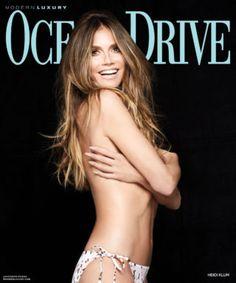 15cd178aec8cf0 Heidi Klum in Ocean Drive US Magazine (July 2018) Supermodels, Bikini,  Stroje