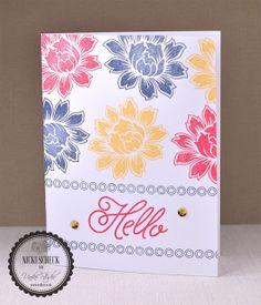 Dream Create Inspire: 10 Minute Craft Dash #30 - Uniko Sponsored Pretty Pink Posh, Distress Ink, Tim Holtz, Cas, I Card, Hand Stamped, Stamping, Card Stock, 30th