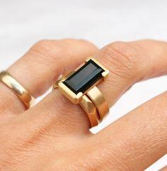 Dark Pounamu Bespoke Wedding ring by Courtney Marama Jewellery